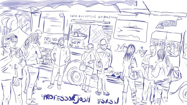 Sketch by Sketch SXSW Interactive IBM Food Truck