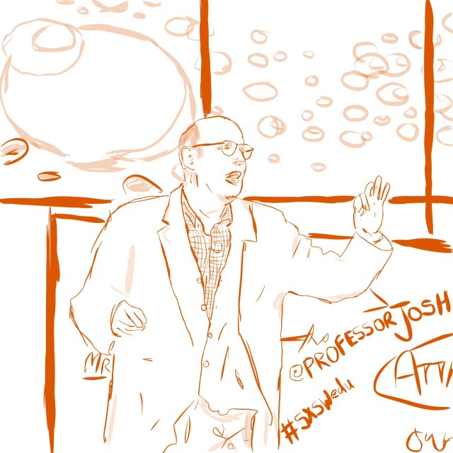 Sketch SXSWedu Jeffery Tambor
