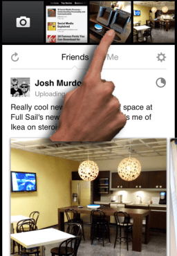 Facebook Camera App 1