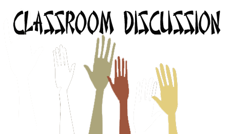 Classroom Discussion Hand Raised