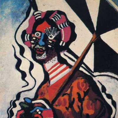 """Young woman with an umbrella"", Francis Picabia"