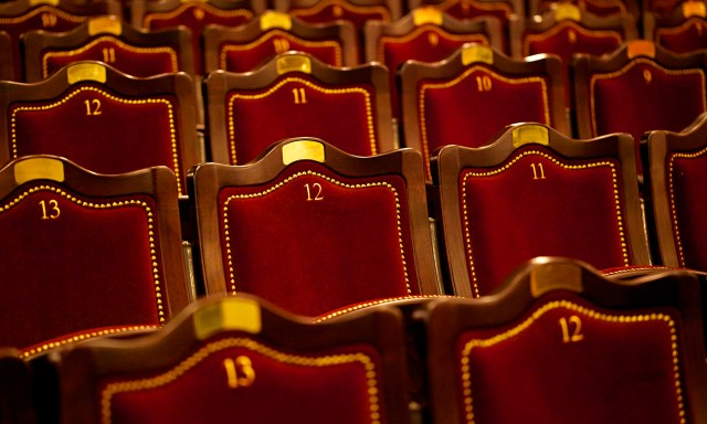 Theatre seats