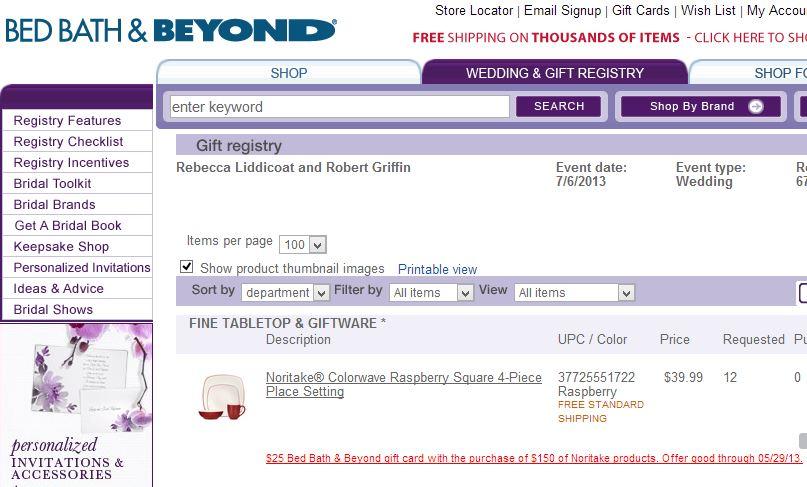 rg2 gift registry