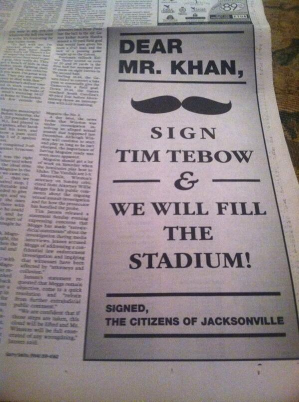 fans-beg-jaguars-to-sign-tim-tebow