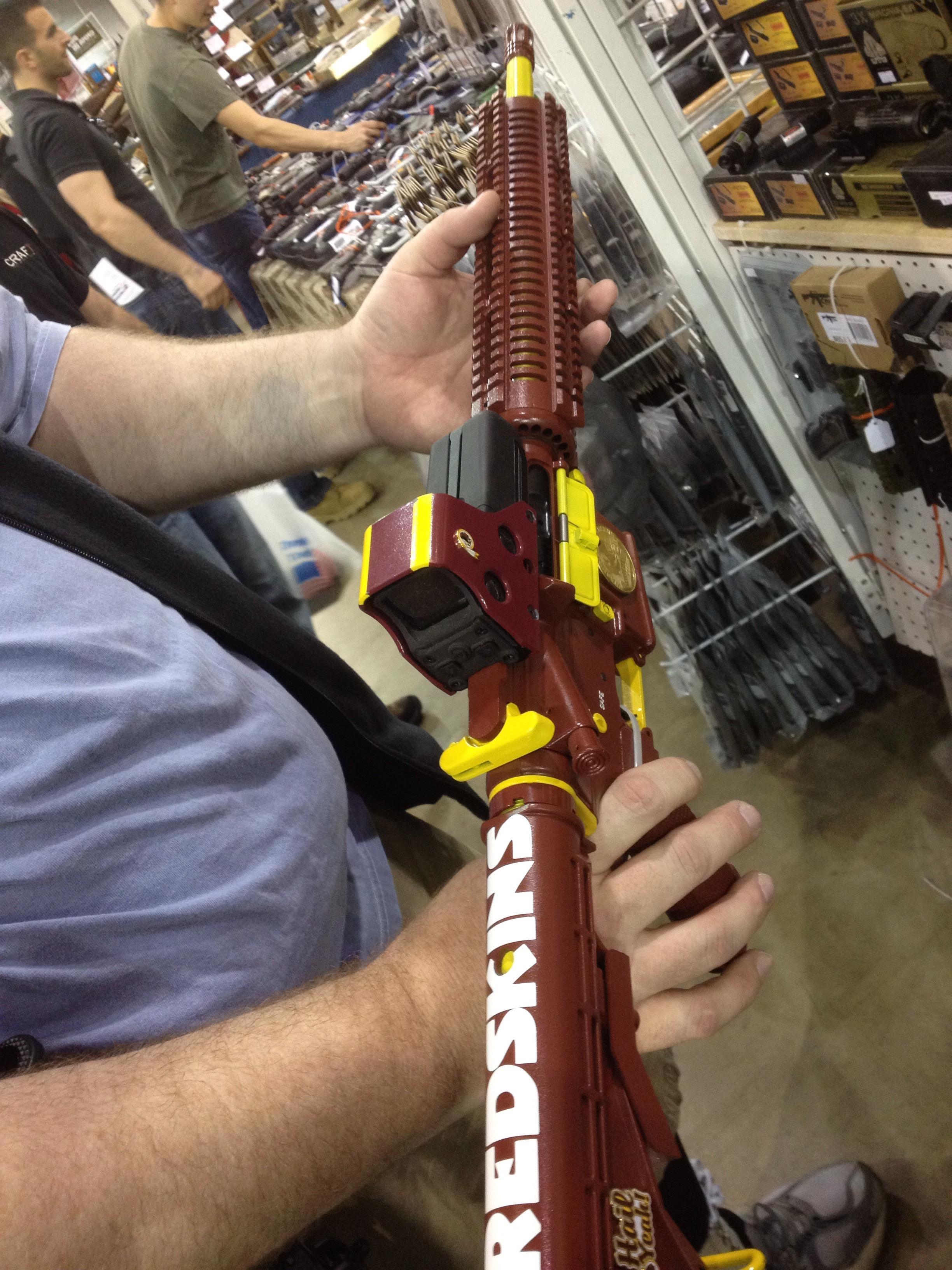 redskins gun