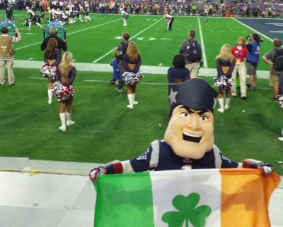 Two Irish guys snuck into Super Bowl XLIX, sat in $25K seats