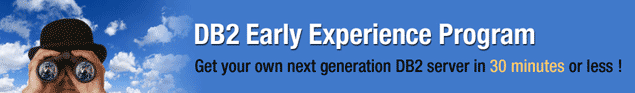 DB2 Early Experience Program