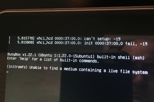 Hp Spectre Linux error