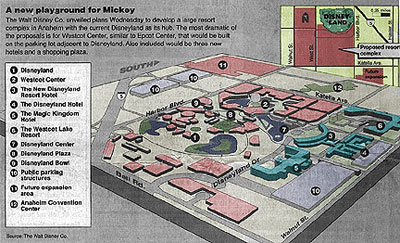 Disney Site Map