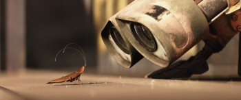 WALL-E and the cockroach