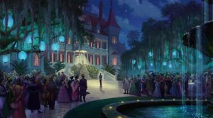 Visual Development for The Princess and the Frog