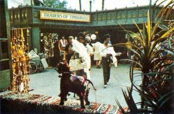 Adventureland shop, 1973