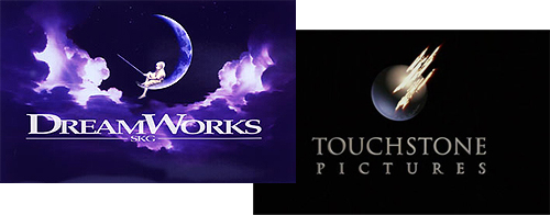 Dreamworks and Touchstone logos