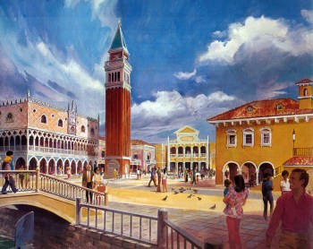 Italy Pavilion rendering