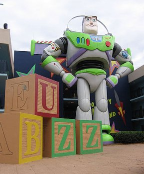 Buzz Lightyear at the All-Star Movies Resort