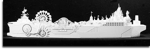 A model of the S.S. Disney (web)