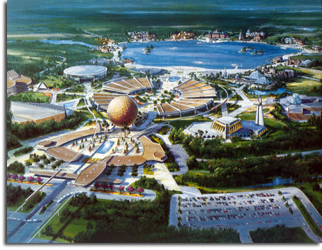 EPCOT Center rendering, 1979