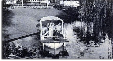 The Waterway Vacuum Boat, Magic Kingdom, 1978
