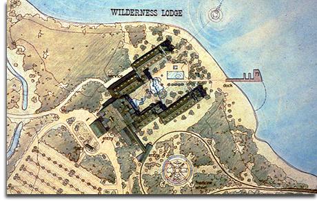 Wilderness Lodge layout rendering