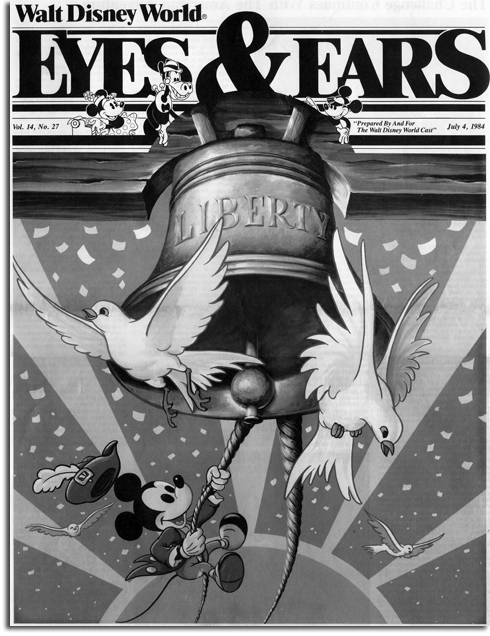 4th of July Eyes & Ears cover, 1983