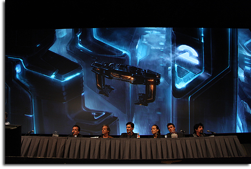 TRON Legacy panel at Comic-Con