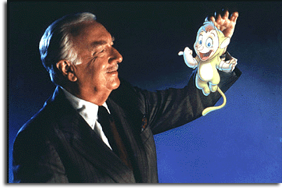 Walter Cronkite in Back to Neverland