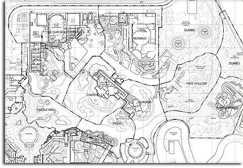 Leaked Fantasyland plans for Walt Disney World