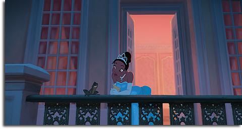 Tiana and her frog prince