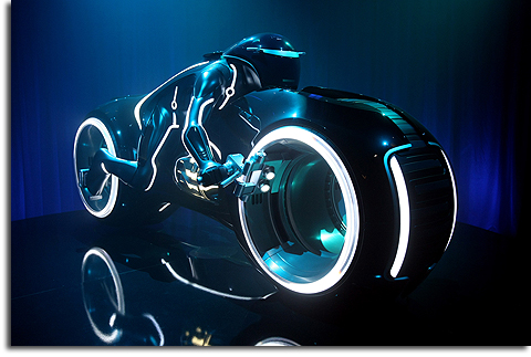 Lightcycle from TRON