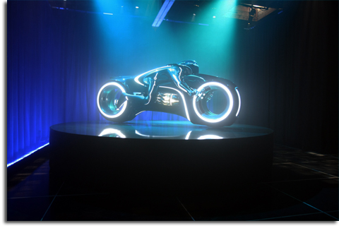 Lightcycle from TRON: Legacy