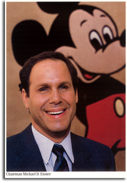 Michael Eisner, 1986