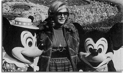 The Empress of Iran in the Magic Kingdom, 1978