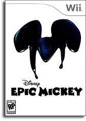 Epic Mickey preliminary box art