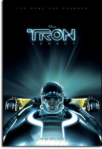 Teaser poster for TRON: Legacy