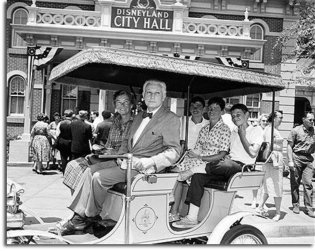 Thomas Dodd and Family (including future Senator Chris Dodd) at Disneyland, 1960