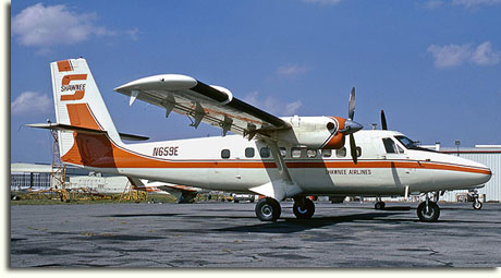 A Shawnee Airlines de Havilland DHC-6 Twin Otter