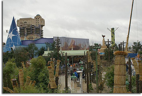 Nightmare scene from Walt Disney Studios Paris