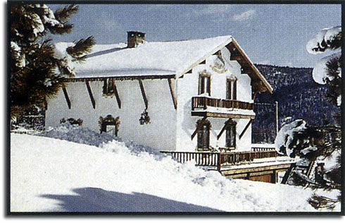 Walt Disney's chalet at Squaw Valley