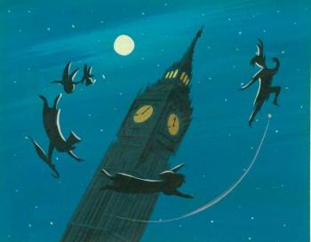 Concept art for Peter Pan