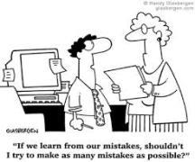 Hoe moeten we kijken naar het maken van fouten?