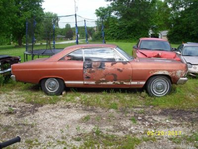 Barn find 1966 Ford Fairlane GTA project for sale