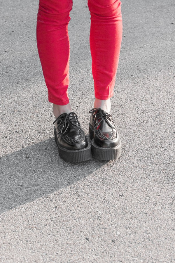 TUK Mondo Leather Creepers-$70, Urban Outfitters.