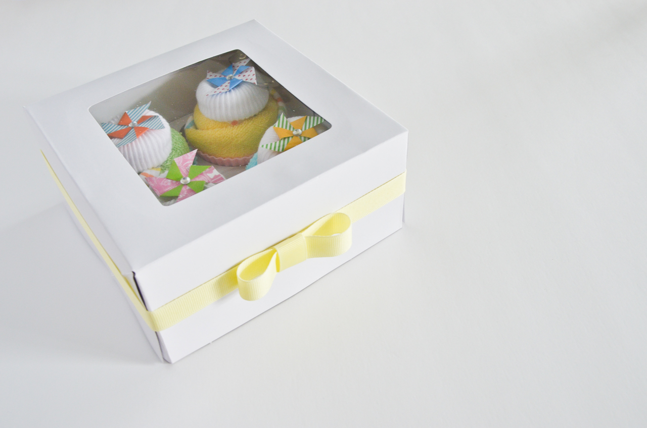 Baby Washcloth Cupcakes Baby Shower Gift