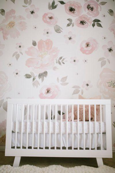 Harper's Floral Whimsy Nursery - Project Nursery