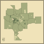 19. Median Household Income in St. Louis-St. Charles-Farmington, MO-IL