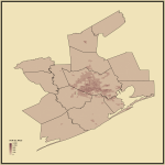 9. Population Density in Houston-The Woodlands, TX
