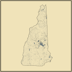 Streams and Waterbodies in New Hampshire