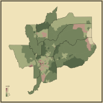 22. Ratio of Never Married to Married People in Sacramento-Roseville, CA