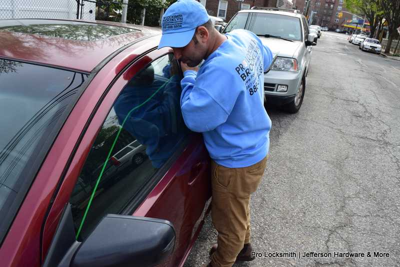 Locked Keys In Car Crown Heights