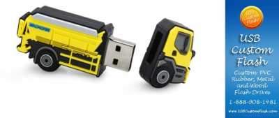 Truck USB Flash Drive | Promo Crunch. World's Best Custom Flash Drives ,Power Banks and Tech ...